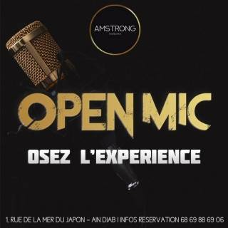 Open Mic Amstrong